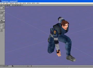 Resident Evil 2 Leon Kennedy in Anim8or