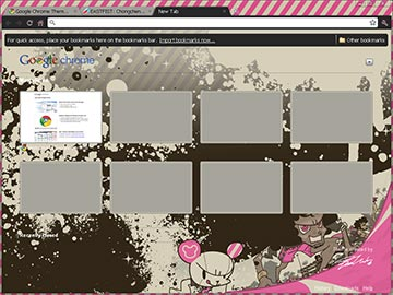 "Google Chrome Theme - ""Baron Ueda"""