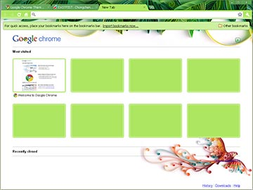 "Google Chrome Theme - ""Yulia Brodskaya"""