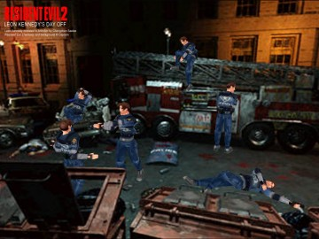 Resident Evil 2 Leon's Day Off modelled in Anim8or by Chongchen Saelee