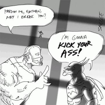 Pen Tonic Comics: British Villain/American Hero Manners