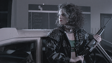 Lady Terminator DVD screenshot of the day