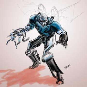 Agent Blue: Power Suit