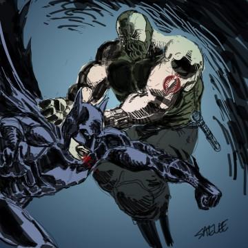 Dark Knight Rises: Bane Vs. Batman