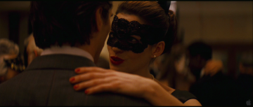 Dark Knight Rises Trailer Analysis: Anne Hathaway (as Selina Kyle) dances with Christian Bale (as Wayne)