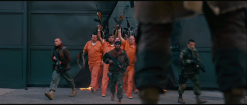 Dark Knight Rises Trailer Analysis: Bane's legs seem to free a bunch of inmates from Arkham Asylum