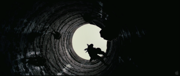 Dark Knight Rises Trailer Analysis: A bunch of dudes rappelling down a huge hole in the ground