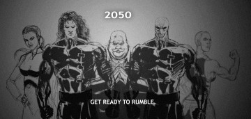 Agent S vs Agent Blue 2050 rumble