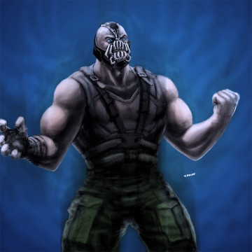 Bane Dark Knight Rises Fan Art