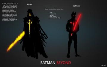 Batman Beyond Live Concept Art