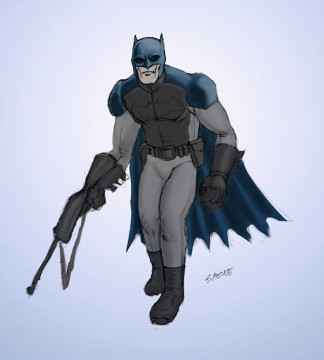 My interpretation of Bat-fleck
