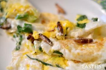 Crickette Omelette