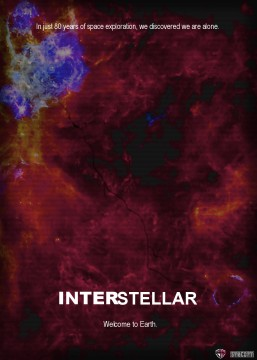 Interstellar Official Poster