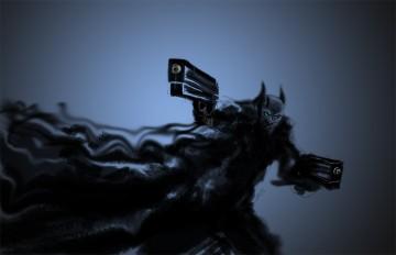 Batman The Black Smoke Demon
