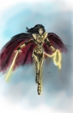 Wonder Woman Gal Gadot Costume Design