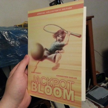 Jackpot Bloom Graphic Novel Comic Book Printed Proof