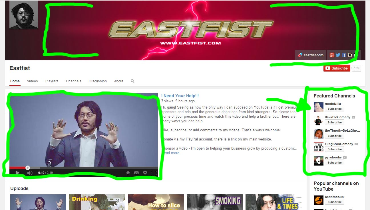 Eastfist Youtube Channel Ad Space For Sale Eastfist