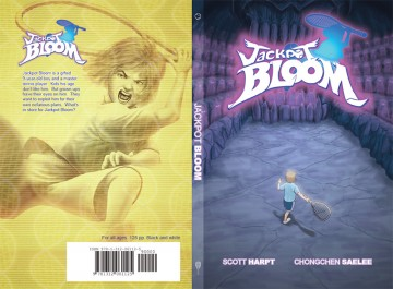 Jackpot Bloom Comic Book Cover Mock-up