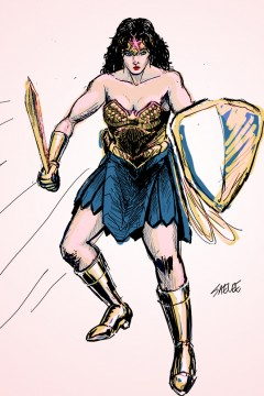 Wonder Woman Sketch