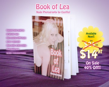 Book Of Lea On Sale 40% Off!!!