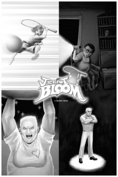 Jackpot Bloom Characters Poster One-Sheet