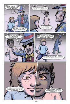 Jackpot Bloom Comic Book Page 100 Color Demo