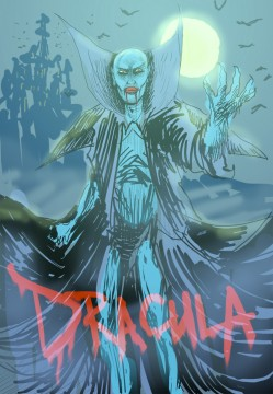 Dracula Sketch by Saelee