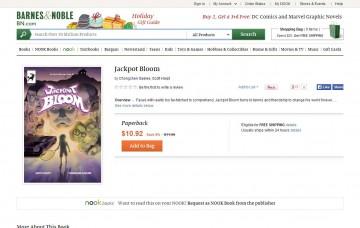Jackpot Bloom listed at BarnesAndNoble.com