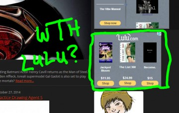 Lulu.com Strange Suggestions