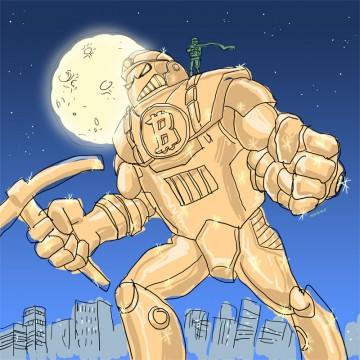 Bitcoin Monster by Satoshi Nakamoto