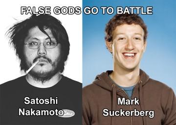 Satoshi Nakamoto Vs. Mark Suckerberg