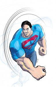 Manga Studio 5 Superman